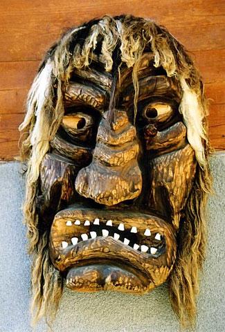Mascara de la Fiesta del Tschaggatta