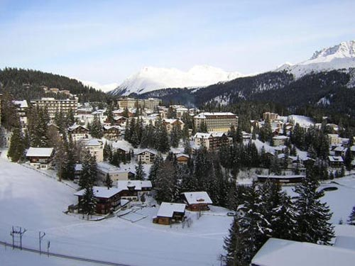 Arosa, de sanatario a resort invernal