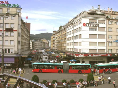 Biel, una de las tres ciudades bilingües