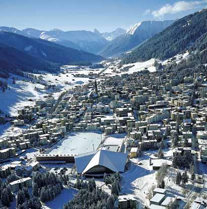 Estacion de esqui en Davos