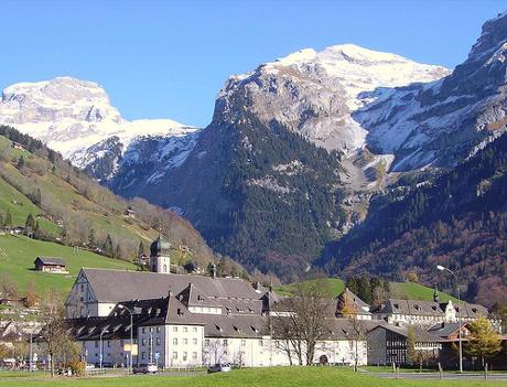 Engelberg, hogar del glaciar del Monte Titlis