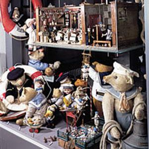 Juguetes en el Puppenhausmuseum