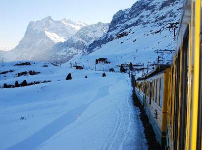 En tren por Suiza