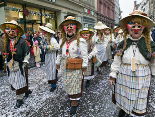 Carnavales, también fiesta en Suiza
