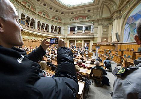 Palacio del parlamento de Berna