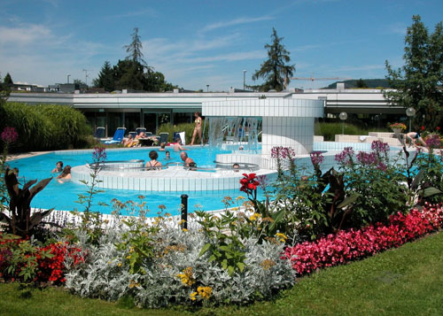Baños Termales Japoneses:Bad Zurzach, baño termal más grande de Suiza