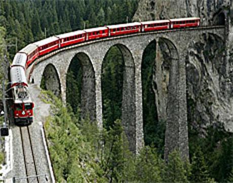 tren Albula-Bernina