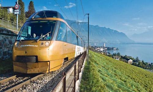 golden pass express train