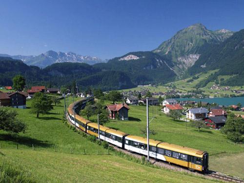 Golden Pass, ver lo mejor de Suiza desde el tren