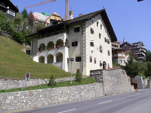 Museo de la Engadina, en Saint Moritz