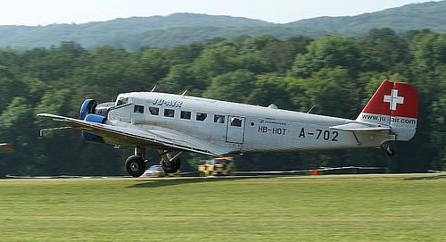 Museo de la Aviacion en Zurich