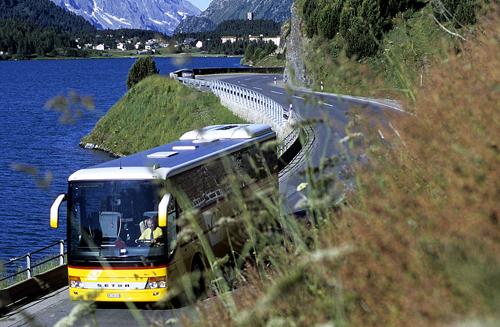 Autobus en Lugano
