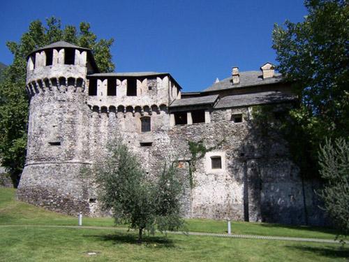 El Castello Visconteo, en Locarno