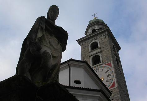 La Catedral de San Lorenzo, en Lugano
