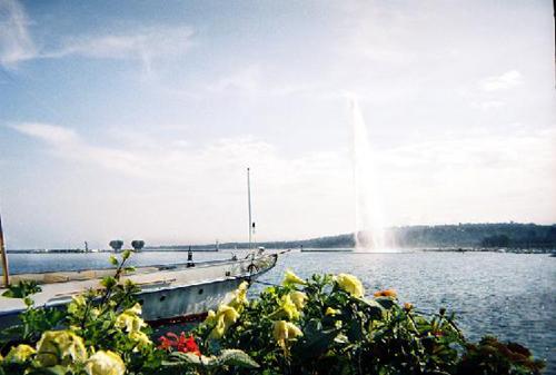 Jet d'eau en Ginebra