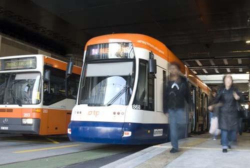 El transporte en Ginebra