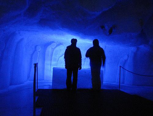 El pabellón de hielo mas grande del mundo