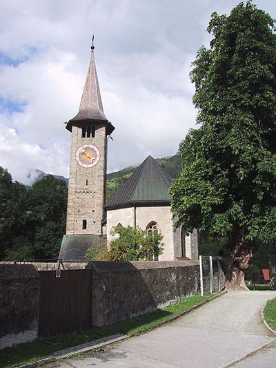 Iglesia de San Martin, Zillis