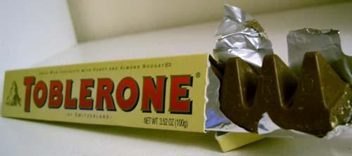 Toblerone, un clásico chocolate suizo