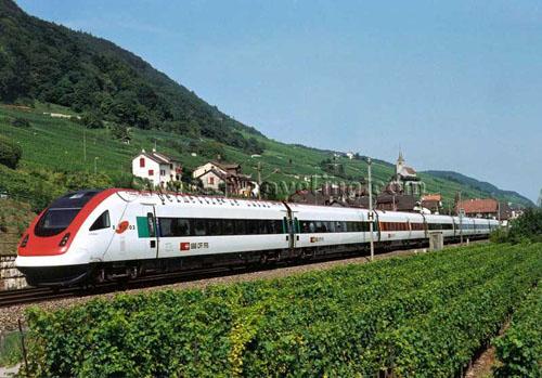 Mas sobre los trenes suizos