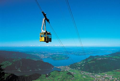 funicular stanserhorn