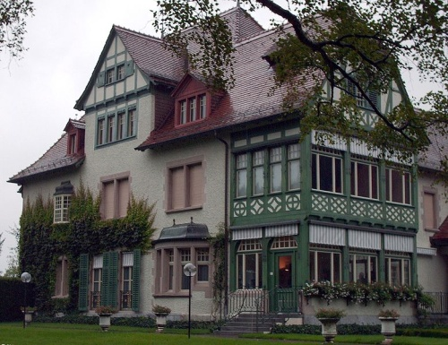 Museo Langmatt, arte frances en Baden