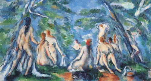 Paul Cezanne, Les Baigneuses
