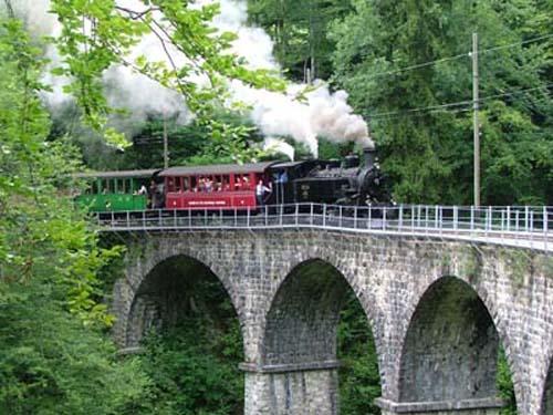 El pintoresco tren Blonay – Chamby