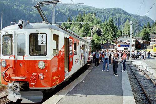 El tour del Mont Blanc Express