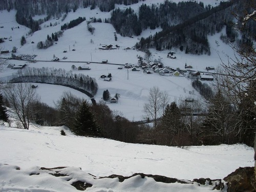Nieve en Toggenburg