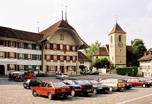 Centro historico de Aarberg