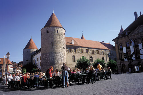 El Castillo de Yberdon-les-Bains