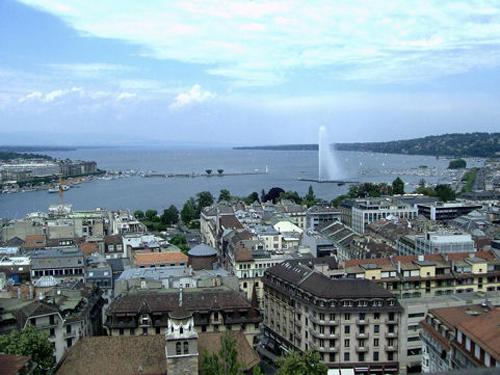 Viaje a Suiza, vuelo y alojamiento