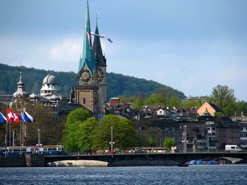 Lindenhof en Zurich