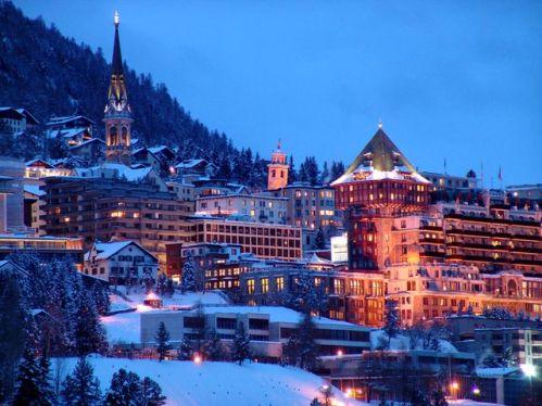 Vacaciones de invierno en St Moritz