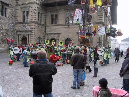 Carnaval de Lucerna para despedir el invierno
