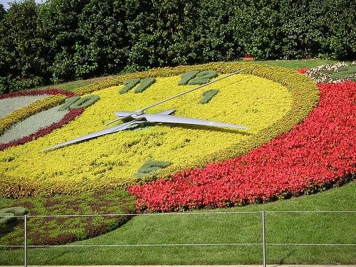 Reloj de Flores de Ginebra