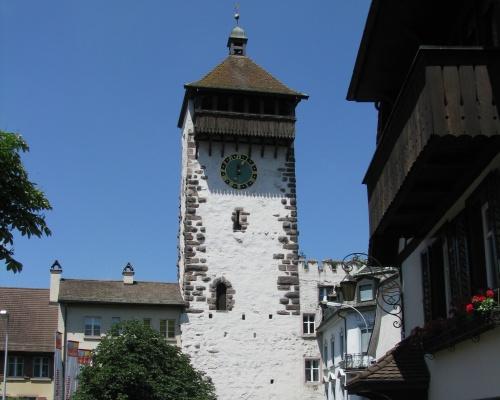 Torre del Reloj en Rheinfelden