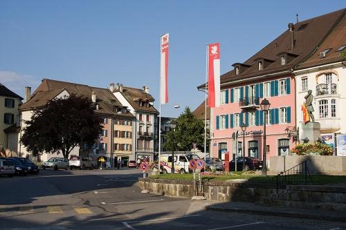 Centro de la ciudad Bulle