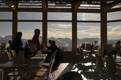 Stockhorn y su restaurante panorámico