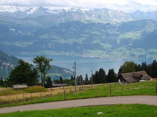 Recorrer los alrededores de Beckenried