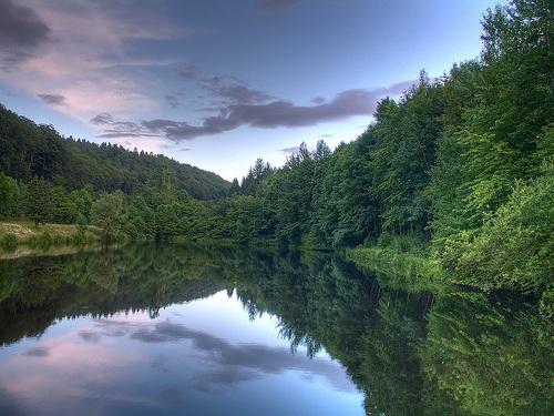 Aabach, paisajes naturales cerca a Zúrich