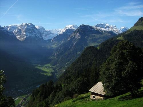 Vista desde Braunwald