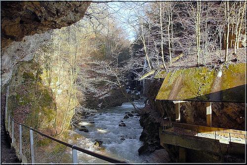 Taubenloch, un desfiladero mágico en Biel