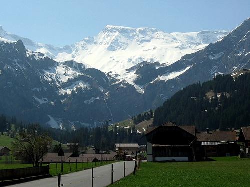 Vista de Adelboden