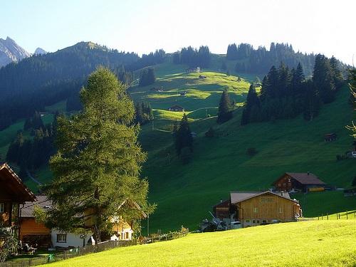 Montañas en Adelboden