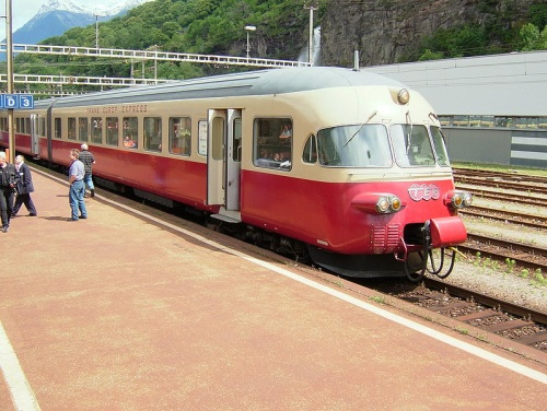 Estacion de trenes de Biasca