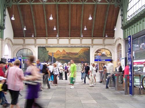 Estacion SBB de Basilea