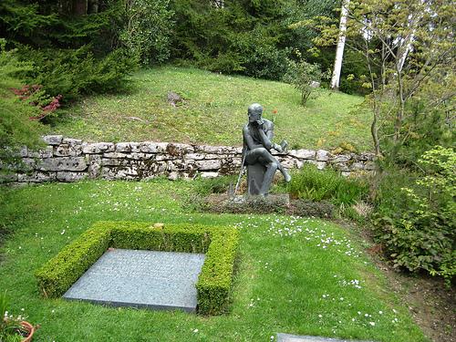 La tumba de James Joyce, en Zurich