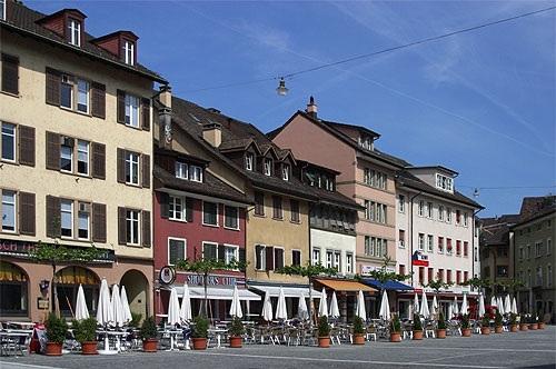 Souvenirs en el centro de Winterthur